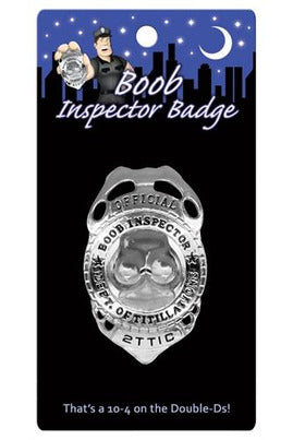 Boob Inspector Badge - My Sex Toy Hub
