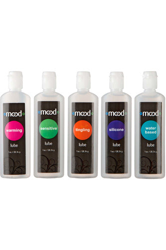 Mood - Lubes 5 Pack | Doc Johnson | My Sex Toy Hub