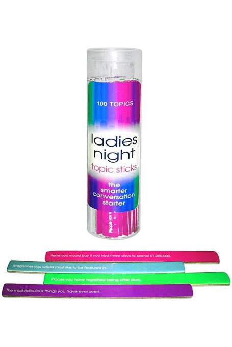 Ladies Night Topic Sticks - My Sex Toy Hub