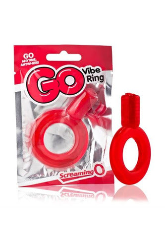 Go Vibe Ring - Each - Red - My Sex Toy Hub