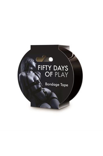 Fifty Days of Play - Bondage Tape - Black - My Sex Toy Hub