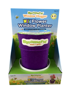 Wildflower Window Planter - Purple