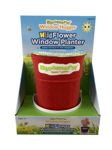 Wildflower Window Planter - Red