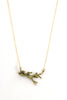 Oak Branch Necklace