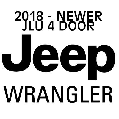 JEEP WRANGLER JLU heavy-duty cargo netting