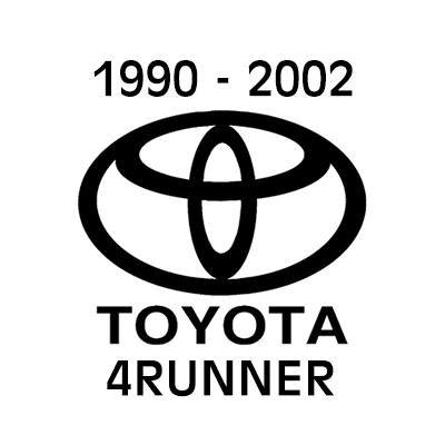 1990 - 2002 Toyota 4Runner heavy-duty cargo netting