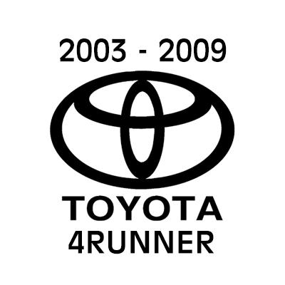 2003 - 2009 Toyota 4Runner heavy-duty cargo netting