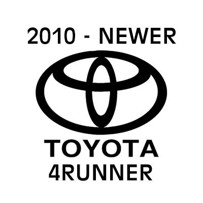 2010 - Newer Toyota 4Runner heavy-duty cargo netting