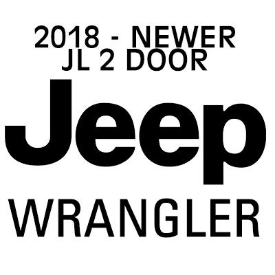 JEEP WRANGLER JL heavy-duty cargo netting