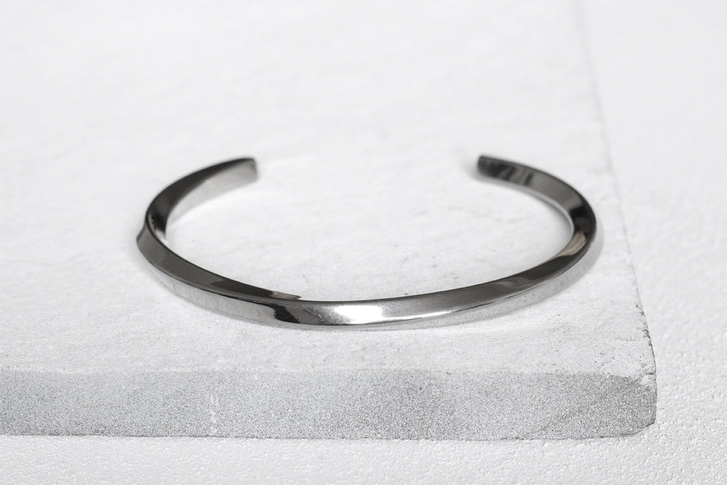 set hammered products heart classic misluo bangles sterling of buy silver bracelet cuff large bangle open