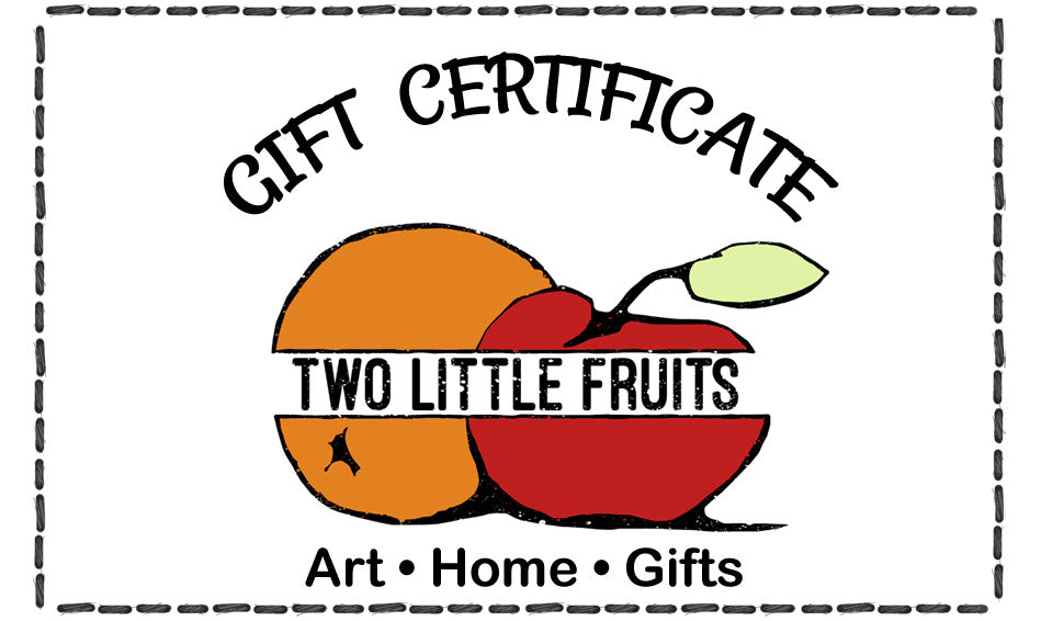 Gift Card, Gift Card - Two Little Fruits