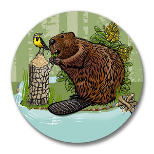 Beaver Bottle Opener-Soft Matte Bottle Openers-Two Little Fruits