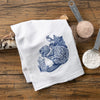 Beaver Cotton Tea Towel