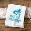 Salty Friends | Octopus, Jellyfish and Pufferfish Cotton Tea Towel Set
