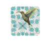 Floral Hummingbird Cork Drink Coaster, Coasters - Two Little Fruits