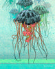 Jellyfish Art Print, Paper Prints - Two Little Fruits