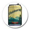 Outdoorsy Beer Can Magnetic Bottle Opener