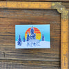 Winter Bear Fridge Magnet