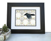 Crow in the Aspens Art Print