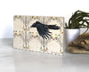 Aspen Raven Small Shelf Art, Art On Wood - Two Little Fruits