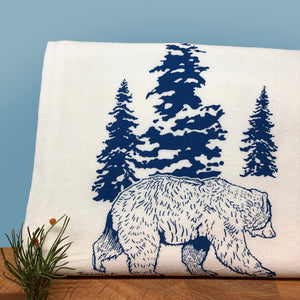 Bear Tea Towel-Tea Towels-Two Little Fruits
