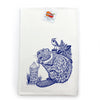 Beaver Cotton Tea Towel-Tea Towels-Two Little Fruits