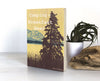 Camping = Breakfast Beer Small Wood Shelf Art, Art On Wood - Two Little Fruits