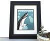 Great White Shark Art Print, Paper Prints - Two Little Fruits