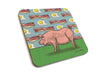 Champ The Pig Cork Drink Coaster, Coasters - Two Little Fruits