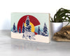 Colorado Flag Bear Small Wood Shelf Art, Art On Wood - Two Little Fruits