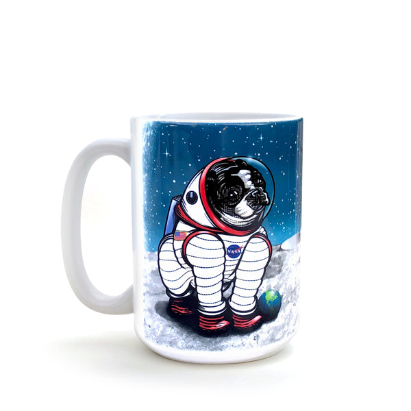 Rover The Space Dog 15 Oz. Coffee Mug, Mug - Two Little Fruits
