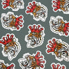 Corona King Tiger Sticker