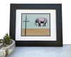 Tightrope Walker Elephant Art Print