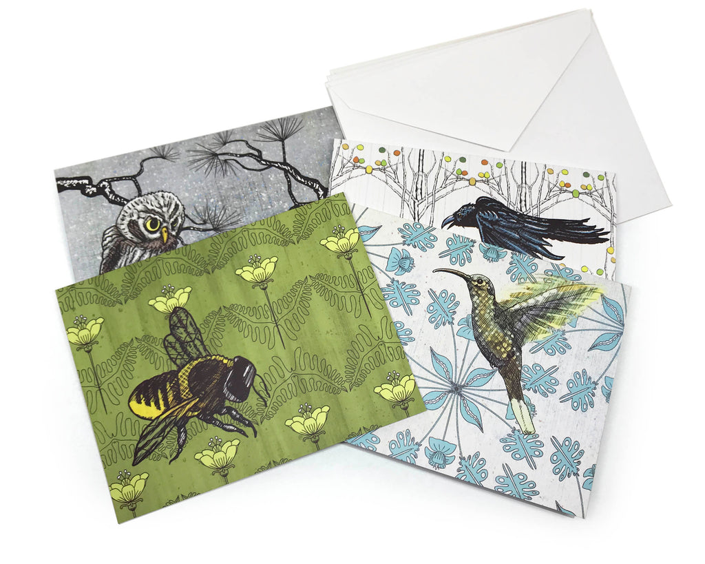 Winged Friends Greeting Card Bundle
