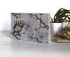 Grey Owl Small Wood Shelf Art, Art On Wood - Two Little Fruits