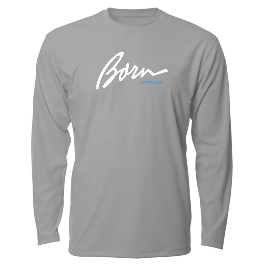 Born Offshore Tournament Born Offshore Long Sleeve - Mens Fishing Shirt UPF 50