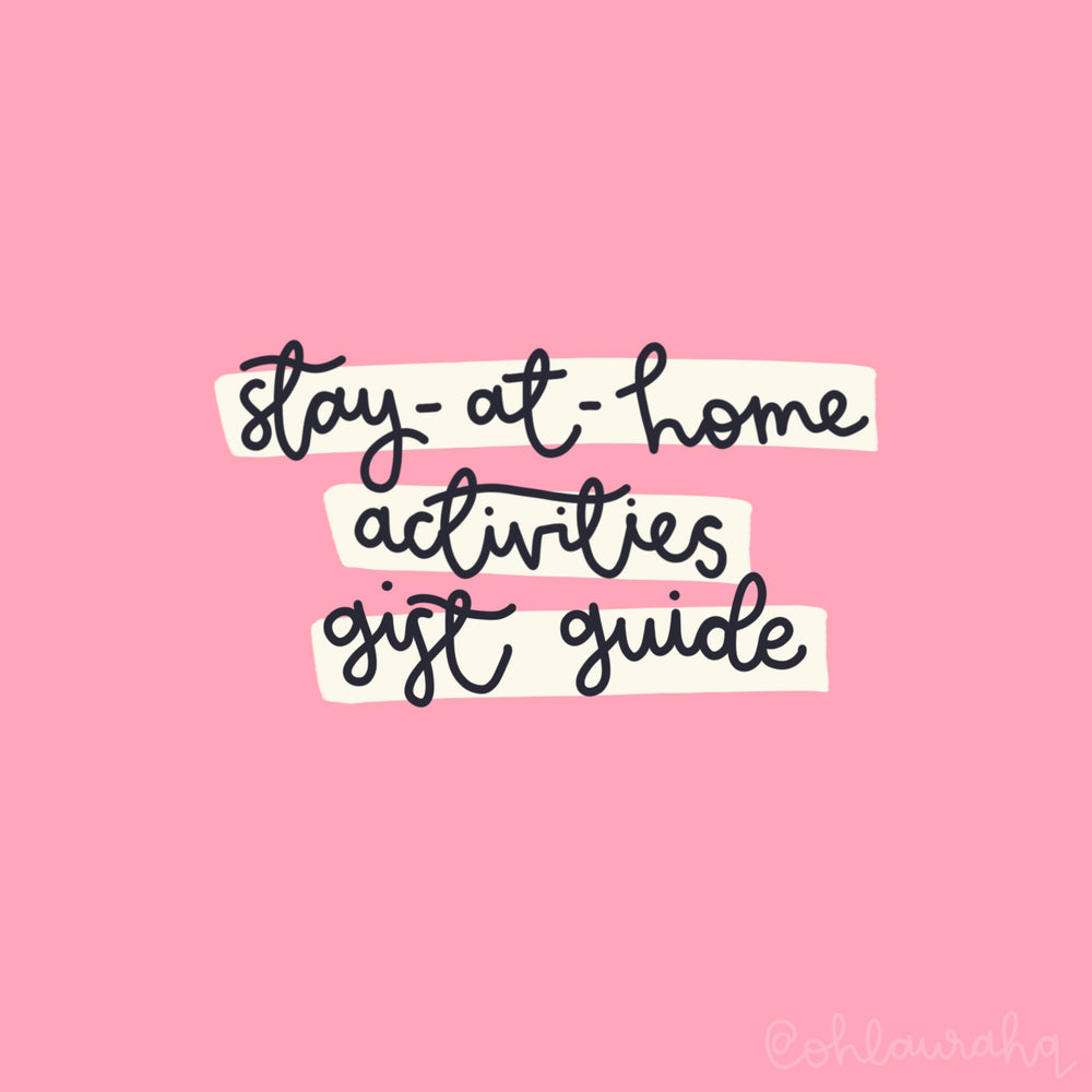 Stay at Home Activities Gift Guide