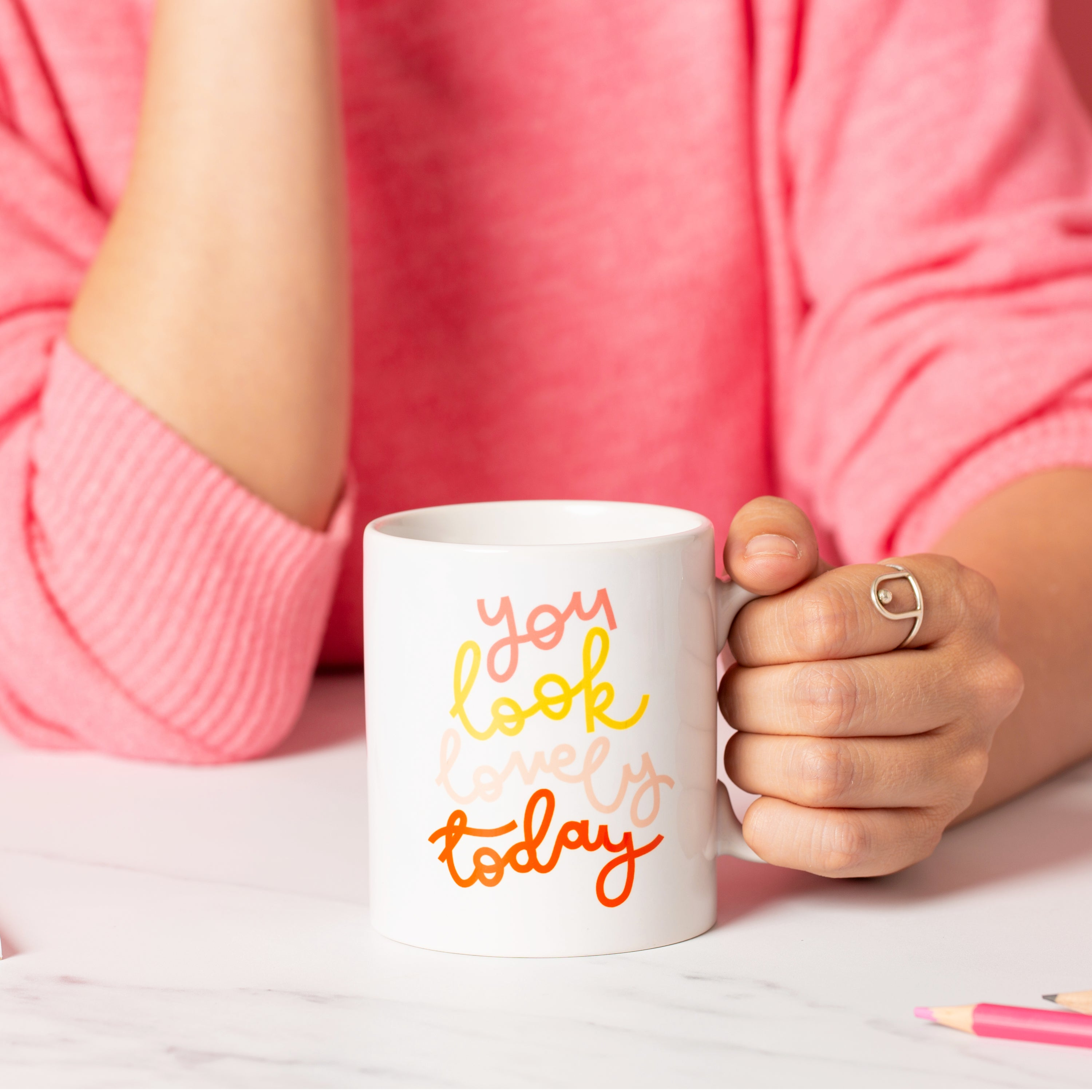 Mug - You Look Lovely Today - Oh, Laura