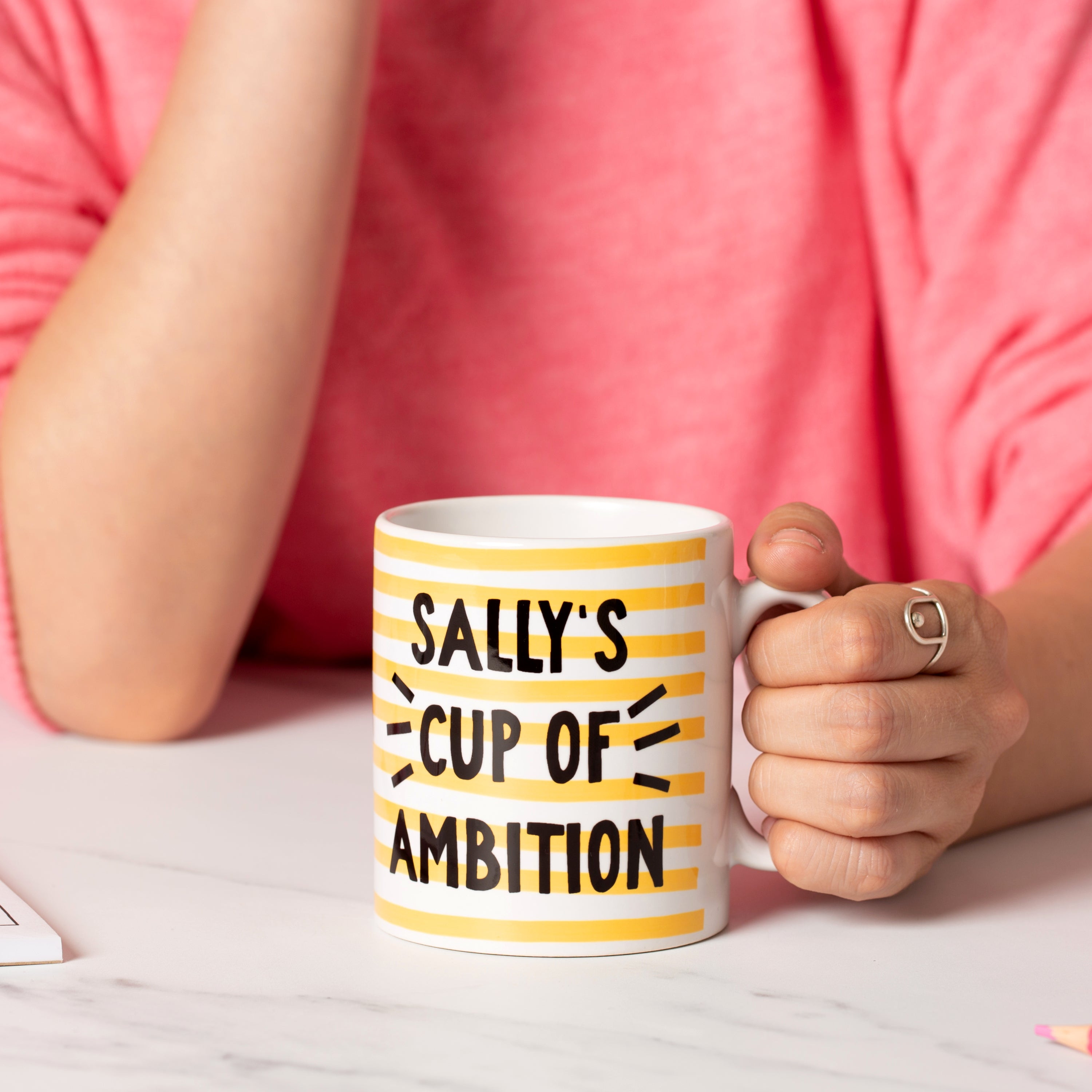 Personalised Mug - Cup of Ambition - Oh, Laura