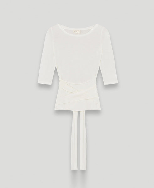 Wrap top              Breathe                            Off white