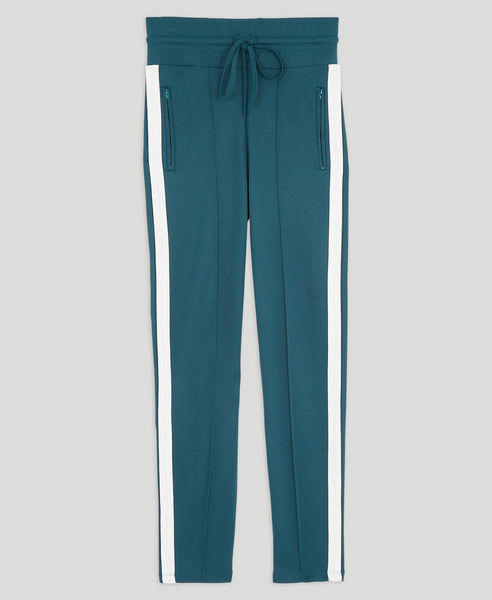 High-­waisted sweatpants              Perfect                            Bleu Canard