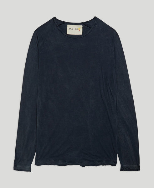 Long sleeve T-shirt              Calm Down                            Dark Blue