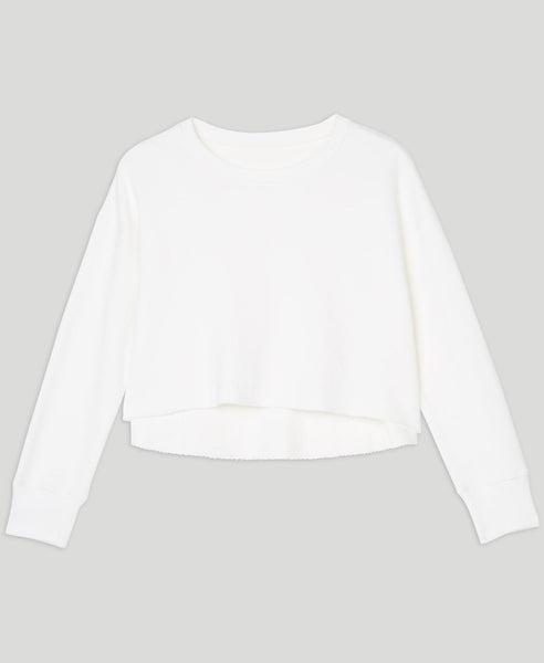 Short sweatshirt                    Dreamer                                        White