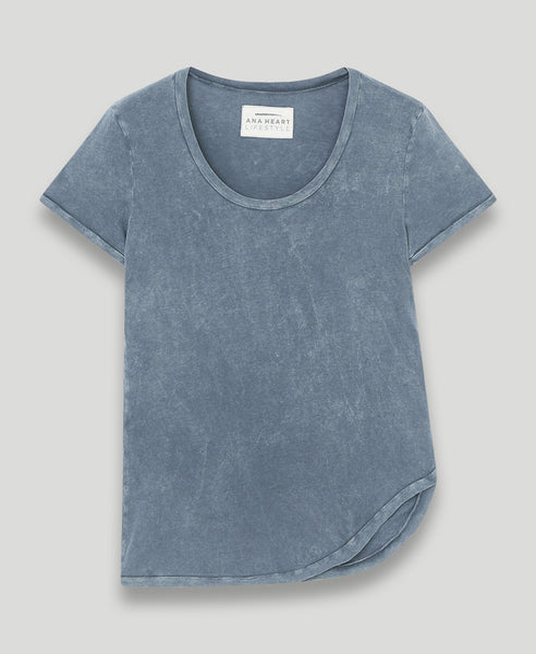 Asymmetric t-shirt              Karl                            Deep sea