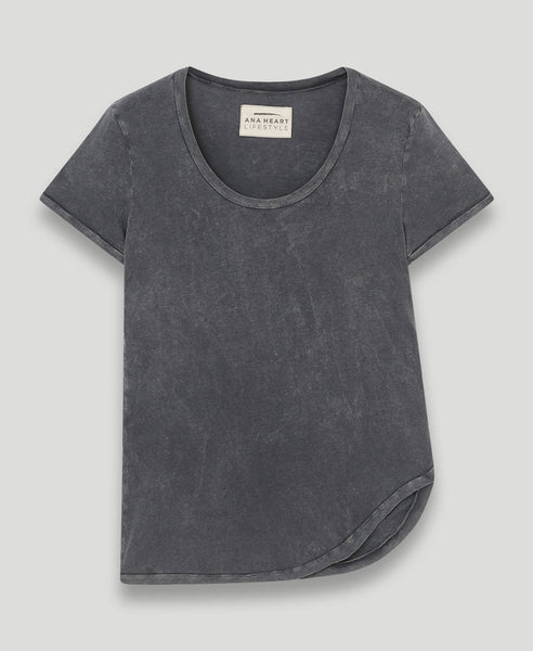 Asymmetrisches T-Shirt              Karl                            Smoky