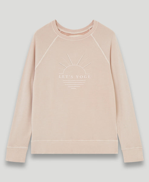 Sweatshirt Let's Yoge              Lauryn                            Rose