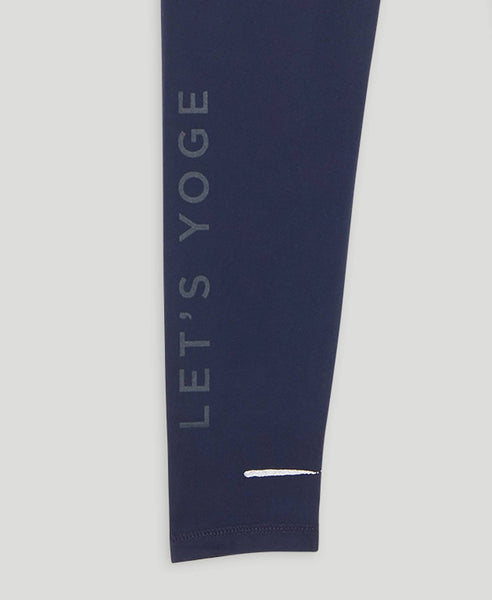 Athlete leggings              Let's Yoge                            Dark Blue