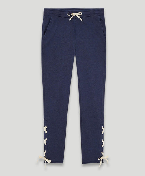 Lace-up Sweatpants              Levin                            Dark Blue