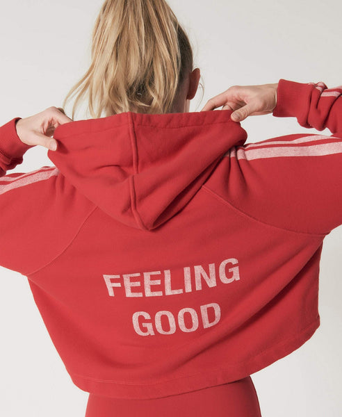 Hooded sweatshirt              Mell                            Red