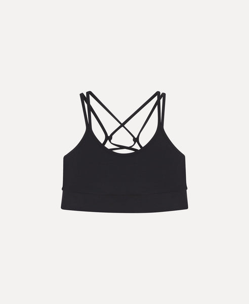 Strappy bra                    Miller                                        Black